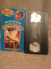 Popular Mechanics For Kids~How Do They Build Spaceships (VHS, 1996) ~Rare