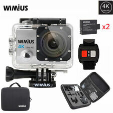 4K Action Sports helmet Camera waterproof WiFi 1080P 16MP DV +go pro Bag Wimius
