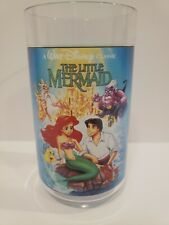 Vintage Disney The Little Mermaid Collector Cup Burger King - RARE UNRELEASED