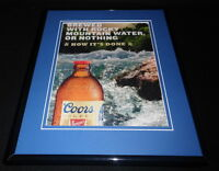 2016 Coors Beer 11x14 Framed ORIGINAL Advertisement