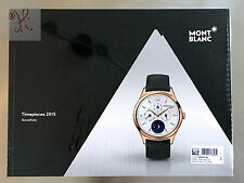 MONTBLANC COLLECTIONS 2015 TIMEPIECES WATCH CATALOG +80 PAGES BOOK