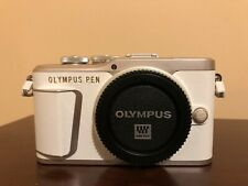 Used Olympus PEN E-PL9 Mirrorless Digital Camera Body (Pearl White)
