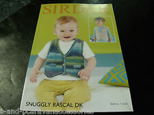 Sirdar Snuggly Rascal Double Knitting Pattern 4774  Birth to 7 Years