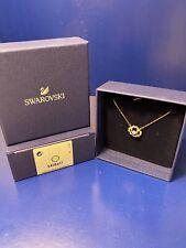 Genuine Swarovski Sparkling Dance Necklace 5408437 Rose Gold Beautiful