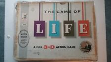 Vintage 1960 The Game of Life Board Game Milton Bradley Complete
