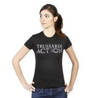 Trussardi Action Tee-shirt Noir À Manches Courtes 2bt03b