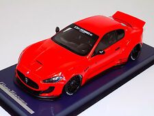 1/18 Maserati Gran Turismo Coupe in Red LB Performance Leather Base MAS-LB-01B