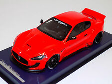 1/18 Maserati Gran Turismo Coupe in Red LB Performance Leather Base w/Top