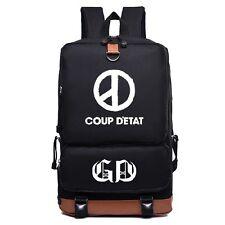 G-DRAGON GD COUP D'ETAT BIGBANG BAG BACKPACK KPOP NEW NLB028