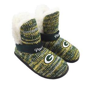 Green Bay Packers Women's 2017 Peak Boot Slippers