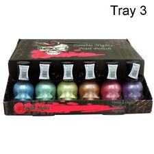 Saffron 6PCS Zombie Night SKULL Nail Polish{TRAY 3}Marmaid Unicorn Ideal Gift
