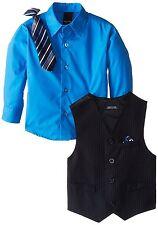 NAUTICA Boy's Stripe Vest, Navy, 4T-4