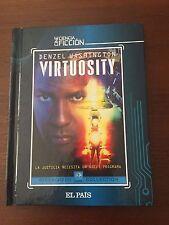 VIRTUOSITY - LIBRO 52 PAGS + 1 DVD - EL PAIS - CINE CIENCIA FICCION - 101 MIN