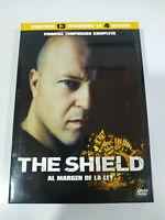 The Shield Prima Stagione 1 Completa - 4 X DVD Spagnolo Inglese - 3T