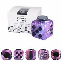 Yetech Galaxy Fidget Toy Cube Toy with Click Ball, Anti-Stress/Anti-anxiety