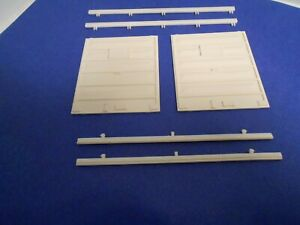 Weaver 'O'  Scale PS-1   boxcar doors  w/guides---