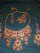 BN Indian Asian Full Traditional bridal Jewellery set *Gorgeous*
