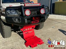 RED Sump Guard Bash Plate suits Toyota Hilux 05-15 Underbody Protection 2 PIECE