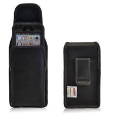 Turtleback iPhone SE 5 5s 5c Leather Vertical Holster Black Clip Otterbox Case