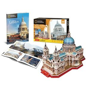 National Geographic St Pauls Cathedral 3D Jigsaw Puzzle/ Model Booklet (pl)