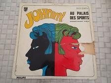 JOHNNY HALLYDAY AU PALAIS DES SPORTS ENREGISTREMENT PUBLIC 33 TOURS VYNILS