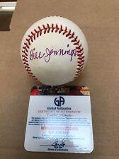 Bill Jennings Signed Baseball St. Louis Browns GAI