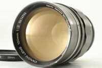 【EXC+3】 Canon 100mm F/2 Leica Screw Mount LTM L39 Rangefinder From JAPAN