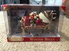 """BREYER HOLIDAY HORSE """"WINTER BELLE"""" 2011 MODEL #700111 NEW IN THE BOX"""