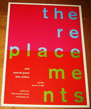 THE REPLACEMENTS ROCK CONCERT POSTER SWISS PUNK GRAPHIC POP ART 10X14 MIKE JOYCE