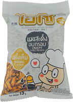 Hiso Small Crickets Crispy Thai Snack Edible Insects Original Flavor 15 g.