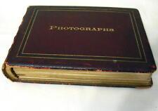 Original 1895 Cabinet Photo Album of SCOTLAND, Perth, Edinburgh, 40 Photos