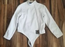 """New listing Absolute Fencing Gear 2 layer Jacket Men's Women's Epee Rh size M 38"""" Breathable"""