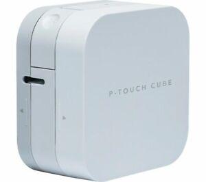 BROTHER PT Cube PTP300BT Bluetooth Label Printer - Currys