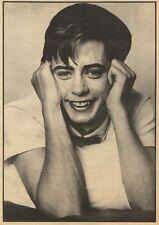"13/3/82Pgn22 ARTICLE & 15X11"" : Nicholas Heyward Singer & Haircut 100"