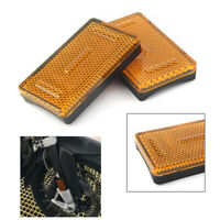 Yellow Fork Leg Reflector Cover for BMW K1200RS K1200GT R1200RT R1200GS ADV cl