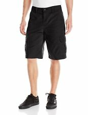 Dickies NEW Deep Black Mens Size 38 Lightweight Duck Cargo Shorts $34 635