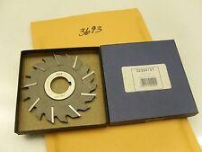 "3693 ) MSC ENGLAND METAL SLITTING SAW BLADE CUTTER MACHINIST 4"" X 1/4"" X 1"" HSSE"