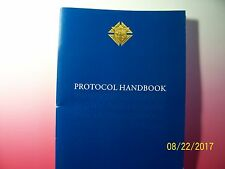 KNIGHTS OF COLUMBUS - Book - PROTOCOL Handbook