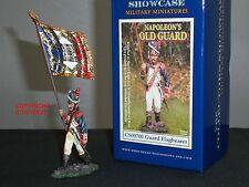 Collectors Showcase cs00700 Francese Vecchia Guardia flagbearer giocattolo Soldato Figura in Metallo