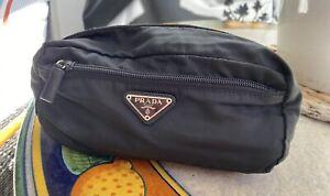 prada black nylon small bags - set of 4