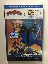 Wonder Woman (Blu-ray/DVD, 2015, 2-Disc) NEW w/Gods and Mortals Graphic Novel