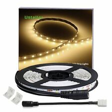 Flexible LED Strip Lights, 300 Units SMD 2835 LEDs, 12V LED Light Strip 3000K,