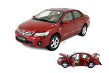 1/18 1:18 Scale Toyota Corolla 2011 Red Diecast Model Car Paudimodel