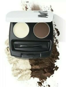 Avon Mark , Perfect Brow Kit, Styling Duo . With Mirror. Soft Or Light Brown.