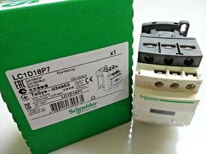 Schneider Electric LC1D18P7 Contactor 7.5KW/400V 230VCA-50/60Hz TeSys-034953