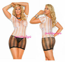 Plus Size SEAMLESS MINI DRESS Strappy 10%Spandex BODY HUGGING Stretchy QUEEN