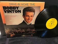 """BOBBY VINTON-Orig HIT LP-""""Drive-In Movie Time""""-Great MOVIE THEMES!-Epic-Mono-NM"""