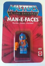 Masters of the Universe Custom Vintage Style Carded MAN-E-FACES Minifigure
