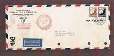 "Germany 1936 Zeppelin Mail to US  Via Airship ""Hindenburg"" 125pf  Airmail Rate"