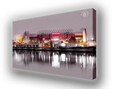 Manchester United - Old Trafford Wall Canvas Picture Print Wall Art 63cm x 40cm